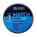 JSB Match Diabolos S100 - Heavy Weight 0,535 gr.